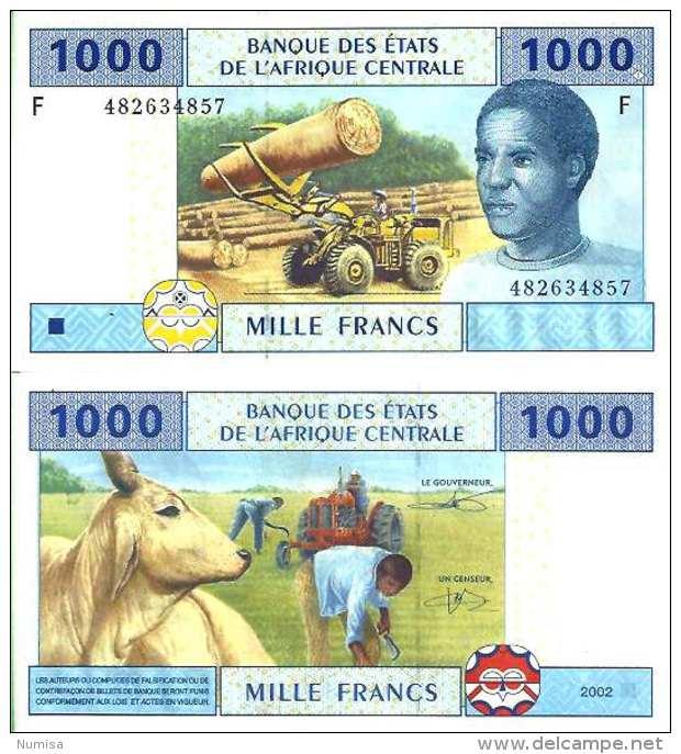 Guinea - Guinée-Equatoriale 1000 Fr 2002 - Pick 507F (New Sig) UNC - Guinée Equatoriale
