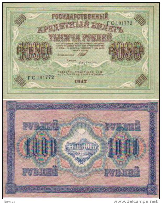 Russie 1000 RUBLES Pick 37 SUP+ - Russland