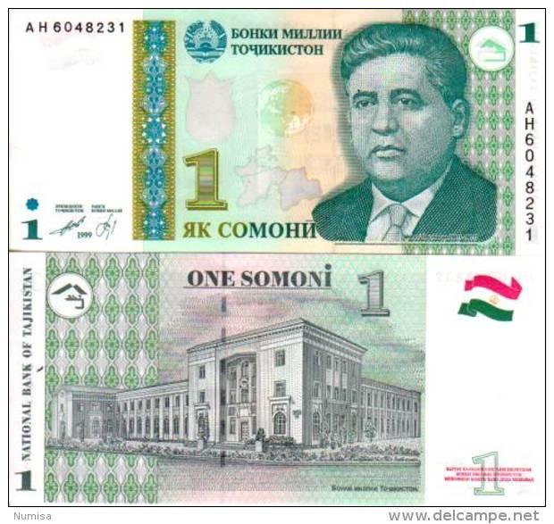 Tadjikistan 1 SOMONI Pick 14 NEUF - Tadjikistan
