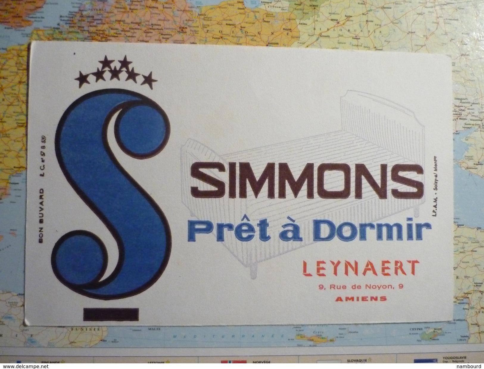 Simmons Prêt à Dormir Leynaert Amiens 3 - Buvards, Protège-cahiers Illustrés