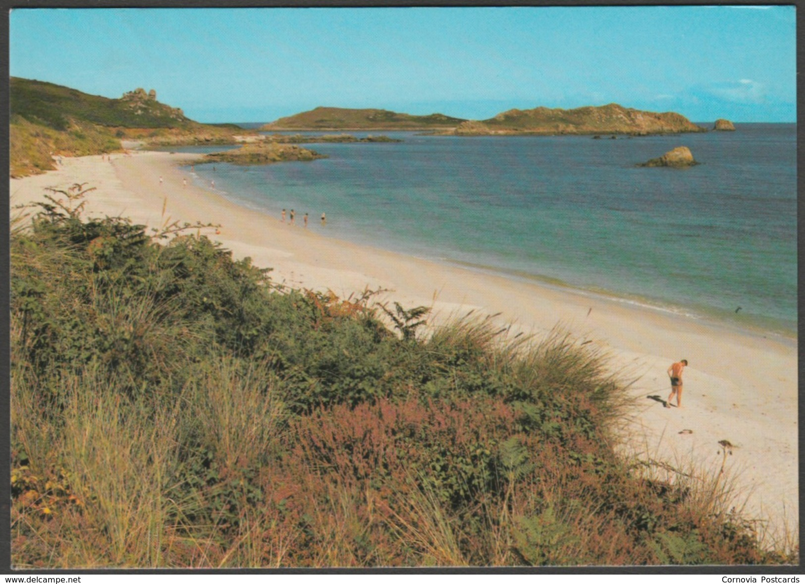 Great Bay, St Martin's, Isles Of Scilly, 1991 - Beric Tempest Postcard - Scilly Isles