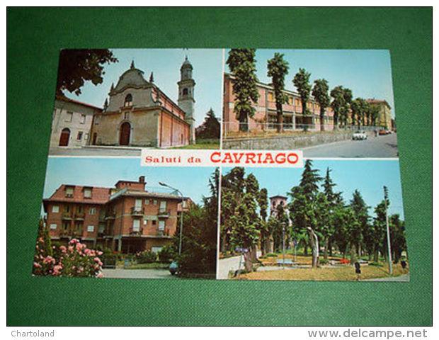 Cartolina Cavriago ( Reggio Emilia ) - Vedute Diverse 1965 Ca - Reggio Nell'Emilia