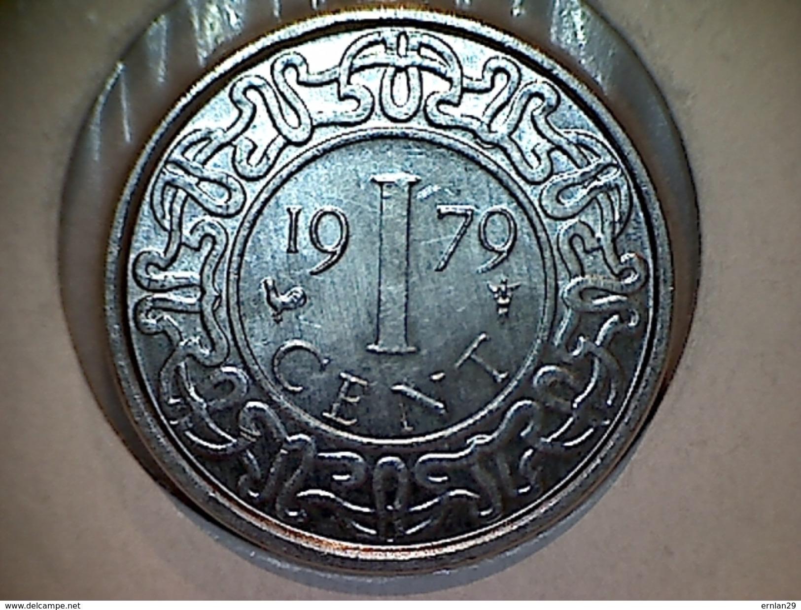 Surinam 1 Cent 1979 - Surinam 1975 - ...