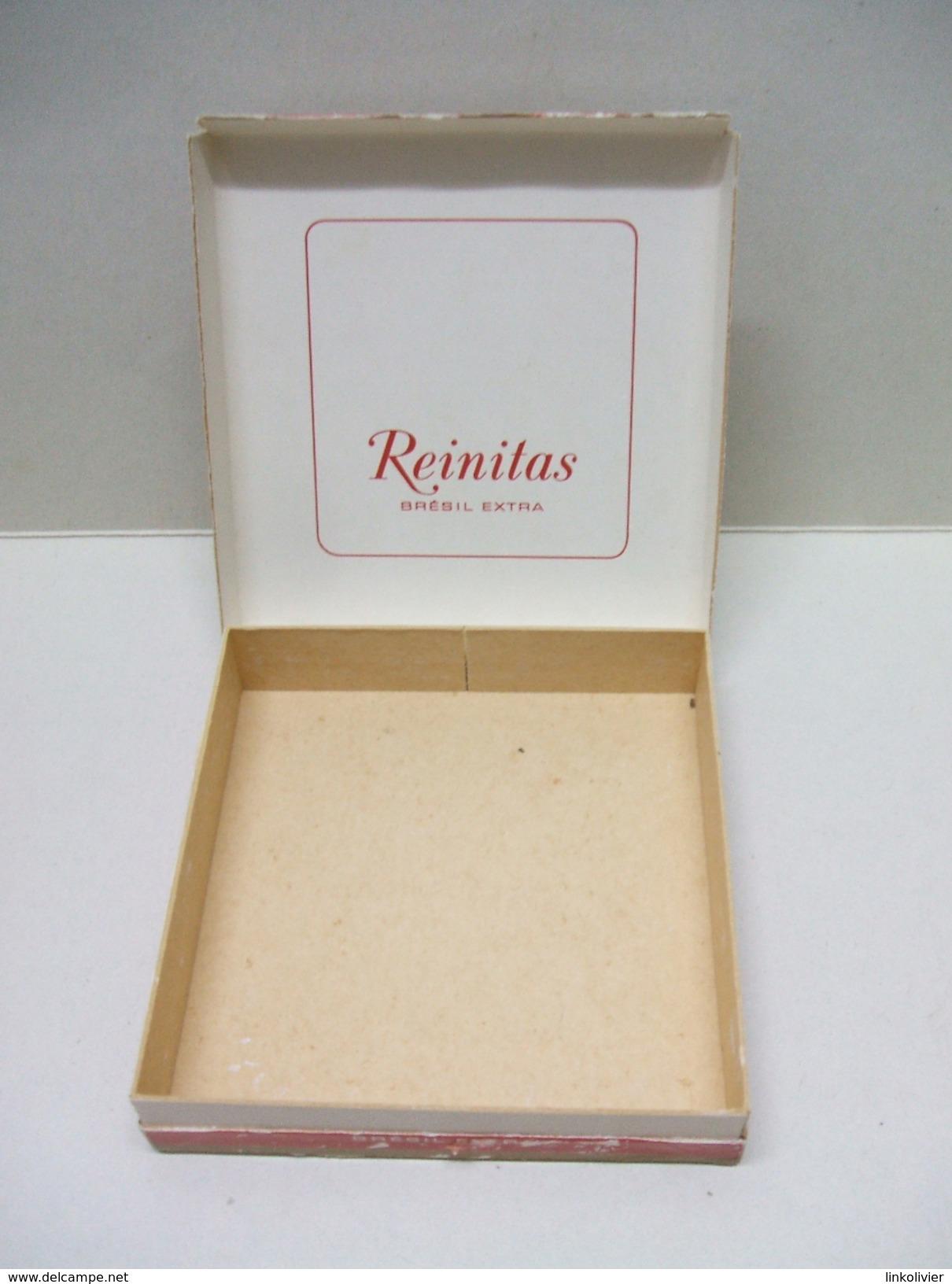 BOÎTE REINITAS En Carton 20 CIGARILLOS (vide) - Zigarrenetuis