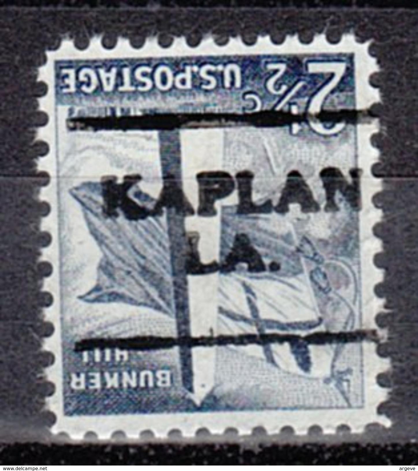 USA Precancel Vorausentwertung Preos Locals Louisiana, Kaplan 701 - Vereinigte Staaten