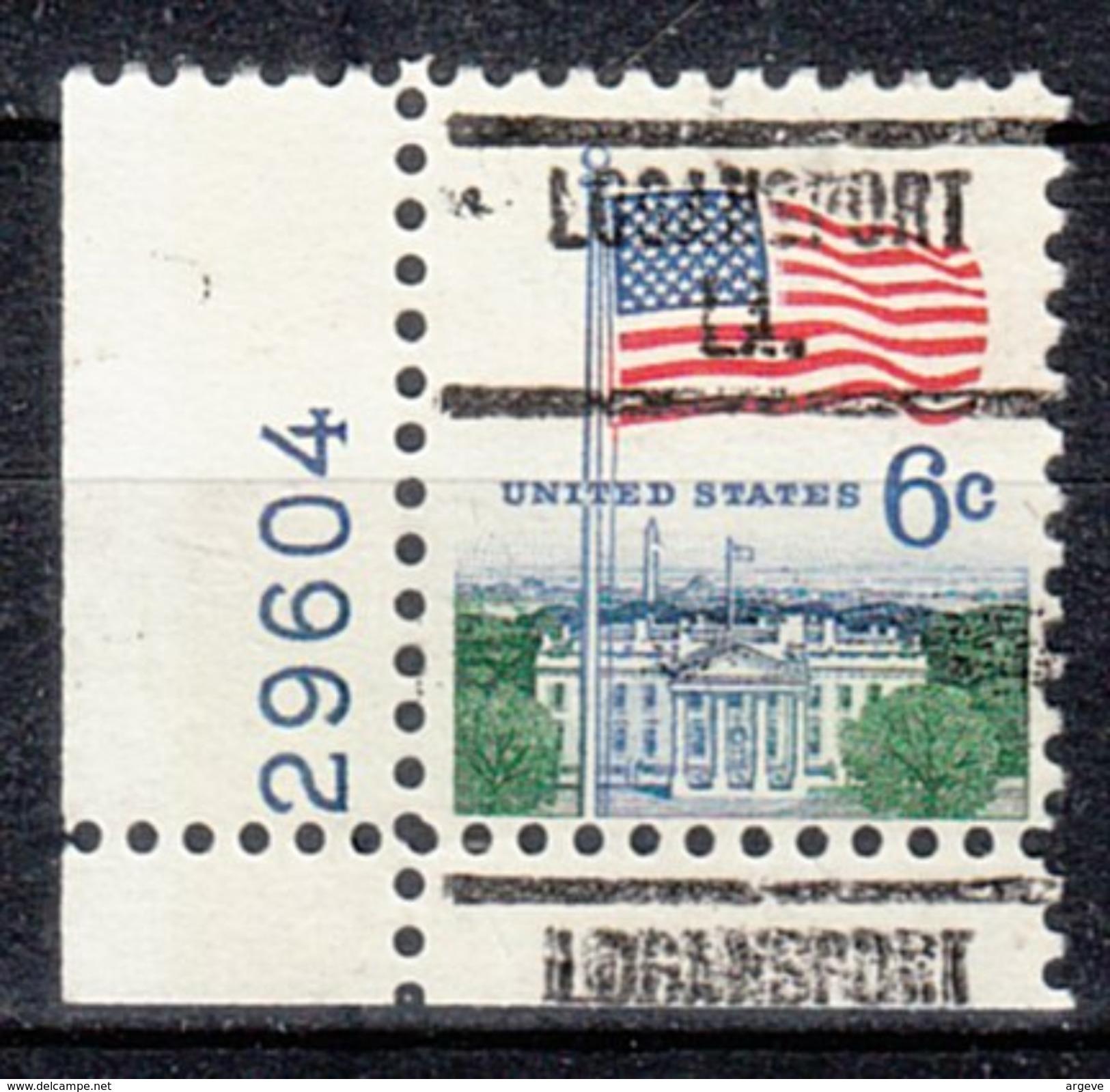 USA Precancel Vorausentwertung Preos Locals Louisiana, Logansport 734, Plate# - Vereinigte Staaten