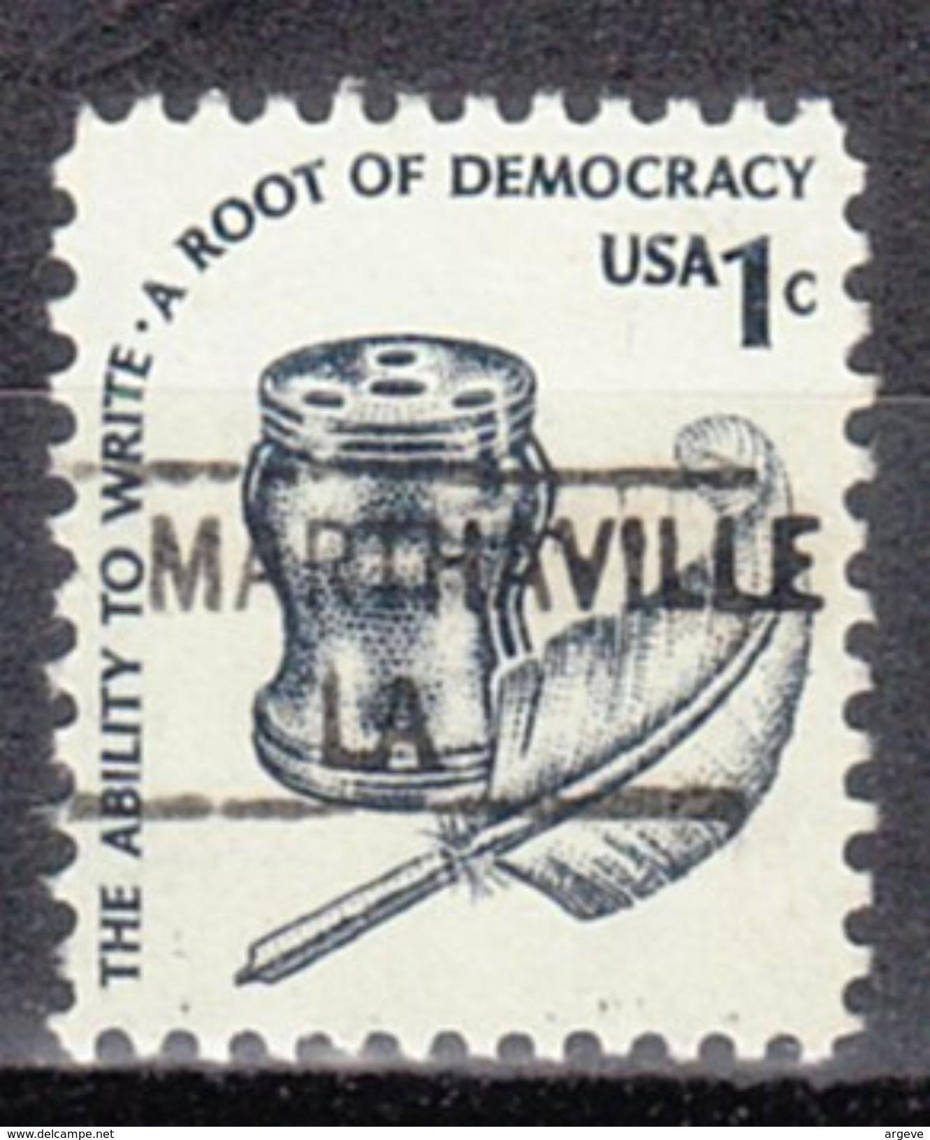 USA Precancel Vorausentwertung Preos Locals Louisiana, Marthaville 841 - Vereinigte Staaten