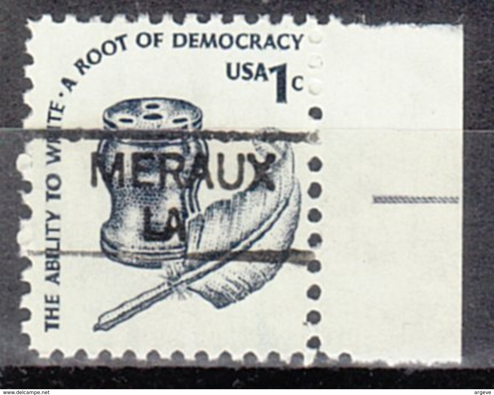 USA Precancel Vorausentwertung Preos Locals Louisiana, Meraux 835,5 - Vorausentwertungen
