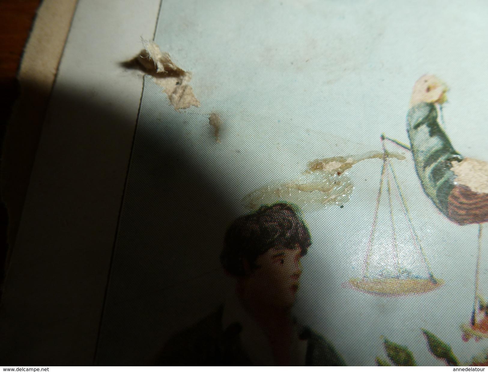 Années 1889-1920 : 2 Images ( AU BON MARCHE ) - Vieux Papiers