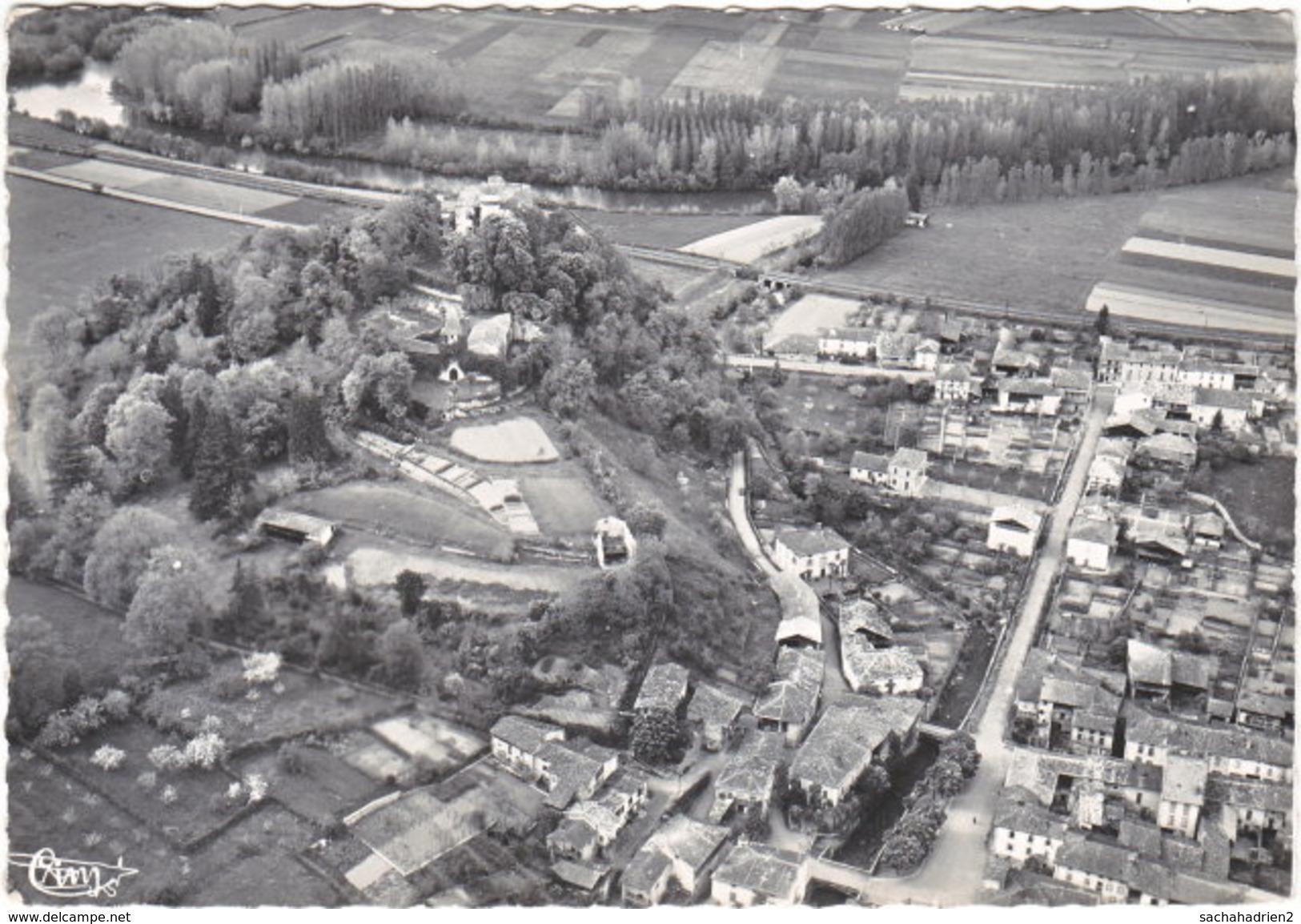 09. Gf. PRAT Et BONREPAUX. Vue Générale Aérienne Et La Vallée Du Salat. 3 - Sonstige Gemeinden