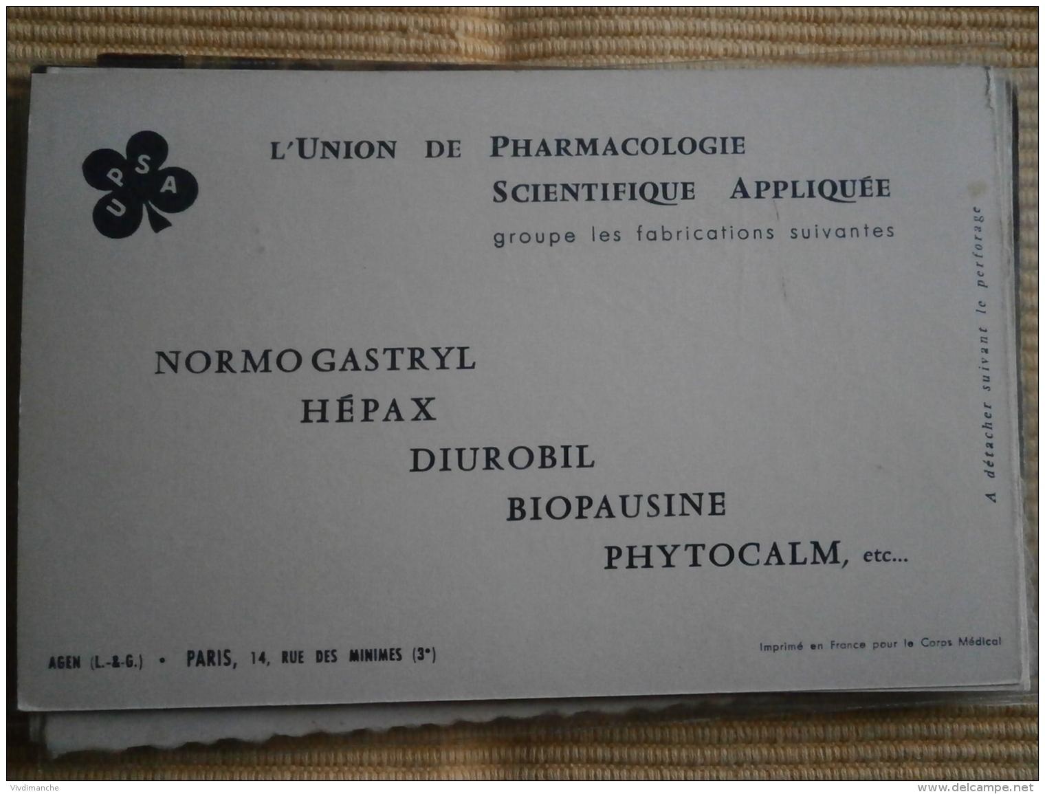COLLECTION DES DRAPEAUX DES NATIONS UNIES - IX - PUB UNION DE PHARMACOLOGIE -CARTE Cpa - Régiments