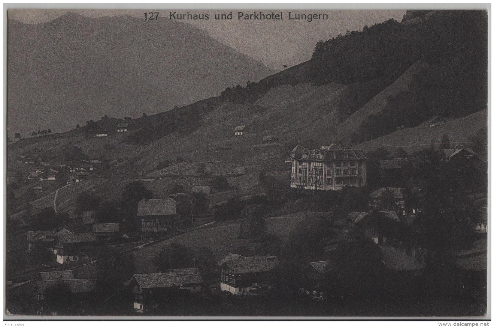 Kurhaus Und Parkhotel Lungern - Photo: Burch - OW Obwald