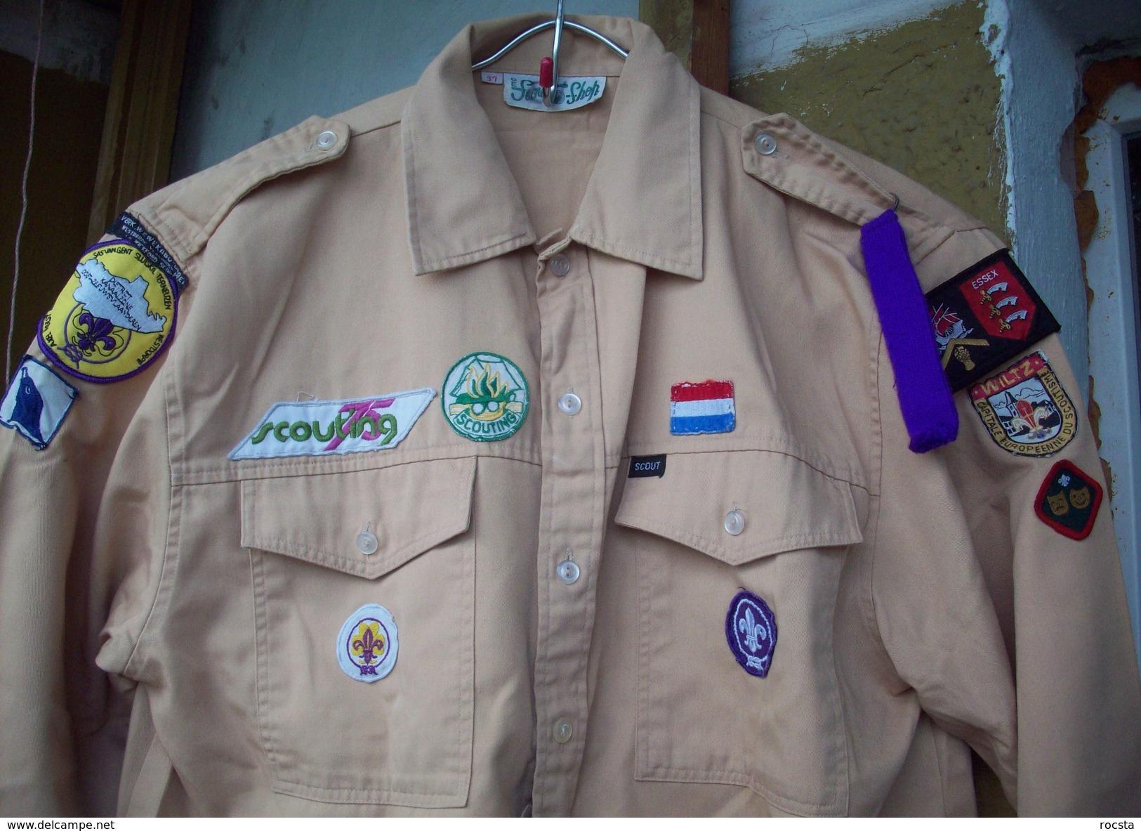 Netherlands Scout Shirt - 12 Patches & Ranks - Padvinderij