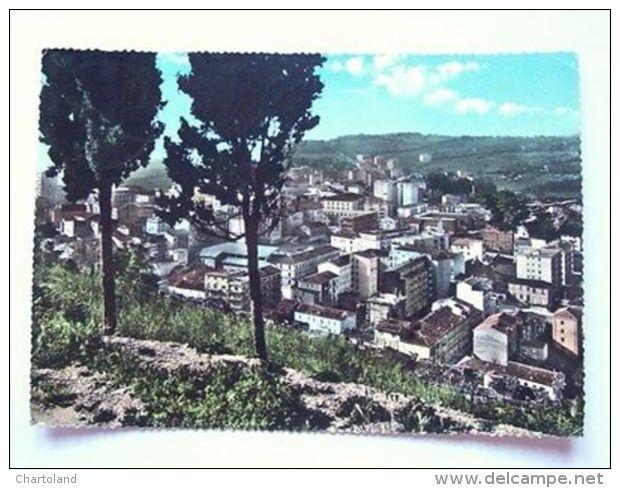Cartolina Campobasso Panorama Dal Castello Monforte '60 - Campobasso