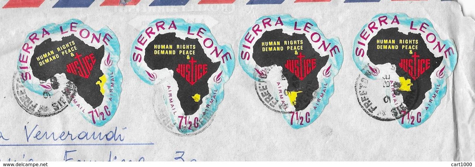 1969 SIERRA LEONE FREETOWN - Sierra Leone (1961-...)