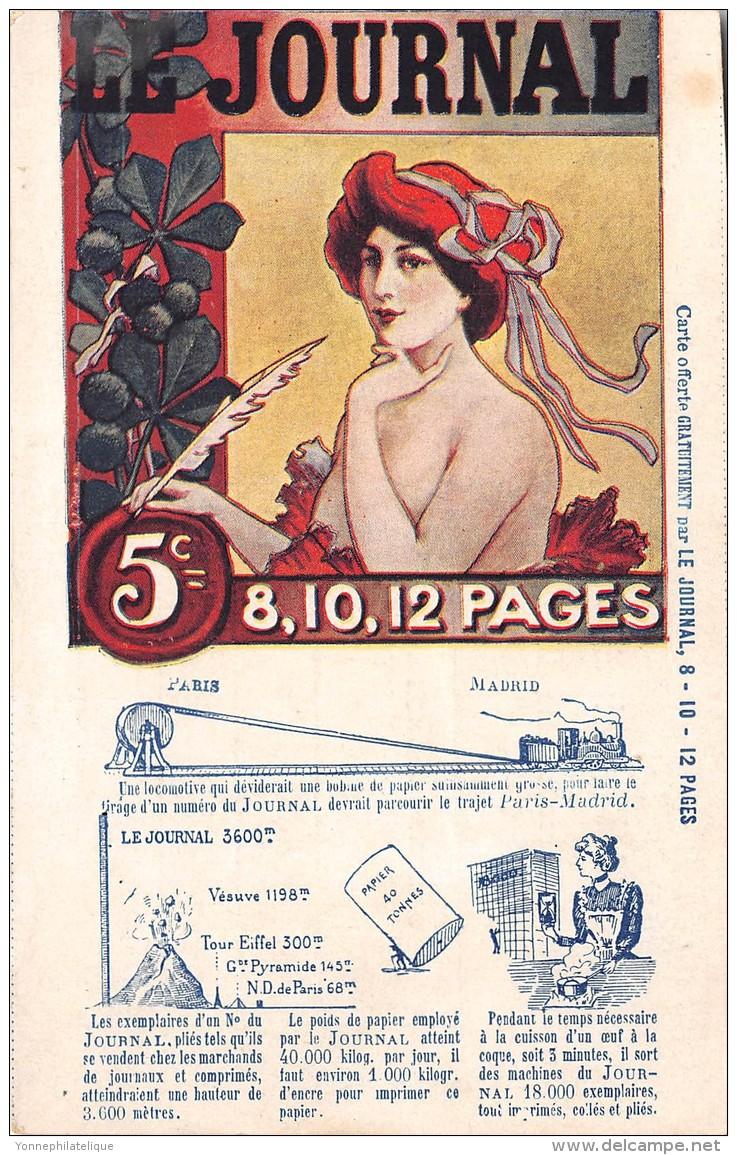 THEMES - PRESSE / JOURNAUX - Le Journal - Cartoline