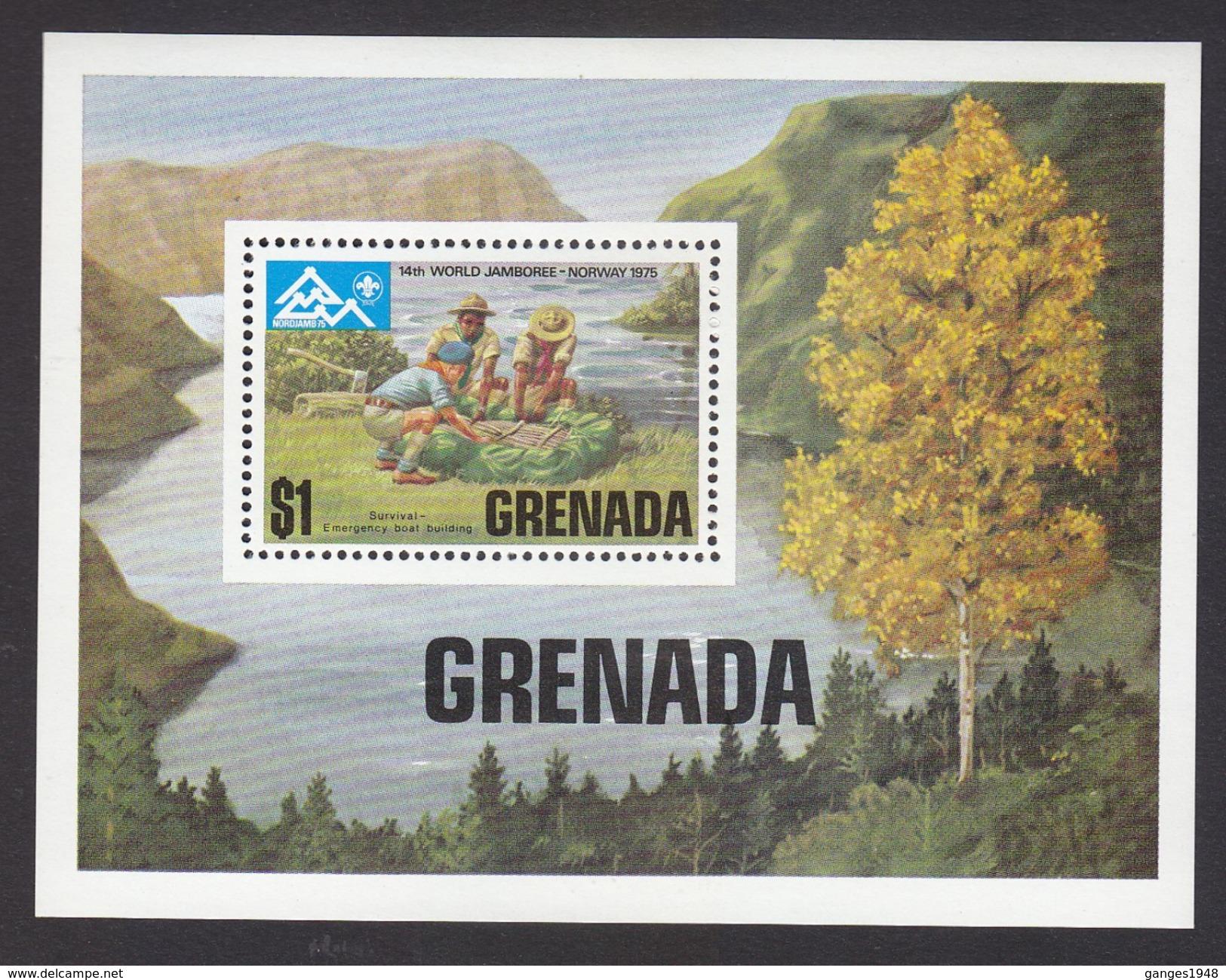 Scouting  1975 Grenada # 19956 S - Scouting