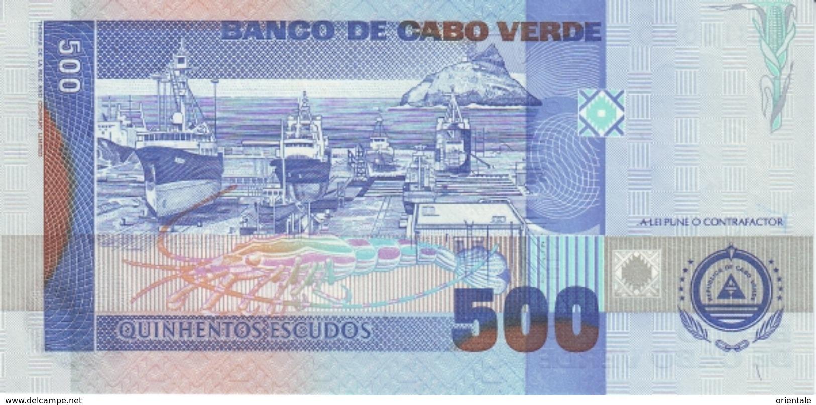 CAPE VERDE P. 64b 500 F 2002 UNC - Cape Verde