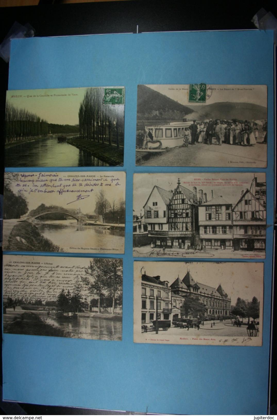 Lot De 100 CPA De France (toutes Scandées) (2) - Postcards