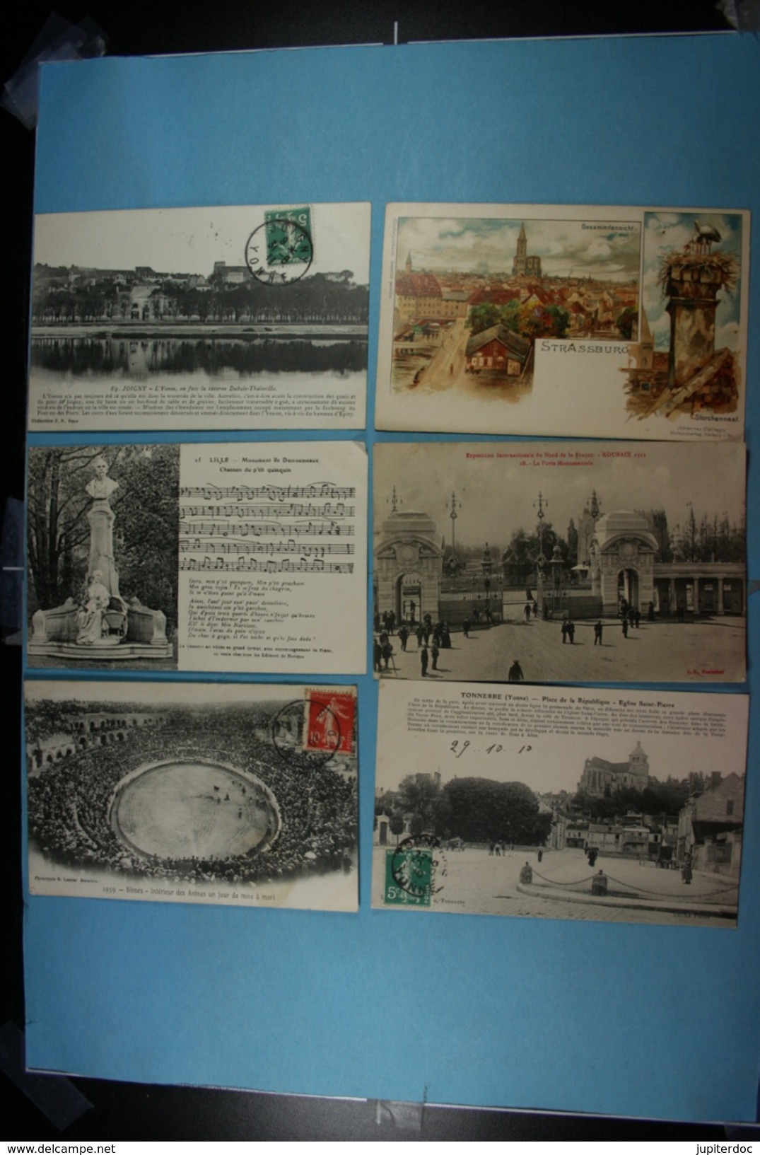Lot De 100 CPA De France (toutes Scandées) (2) - 100 - 499 Postcards