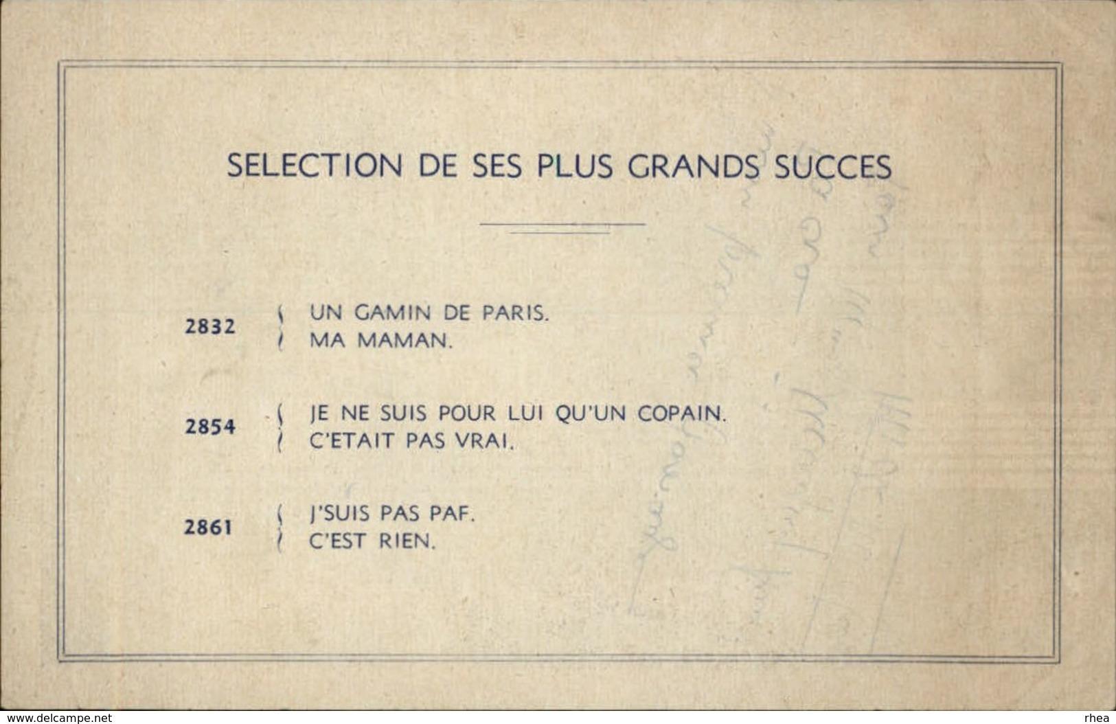 AUTOGRAPHES - CELEBRITES - MICK MICHEYL - Théâtre PACRA à Paris - Dédicace - Autographes