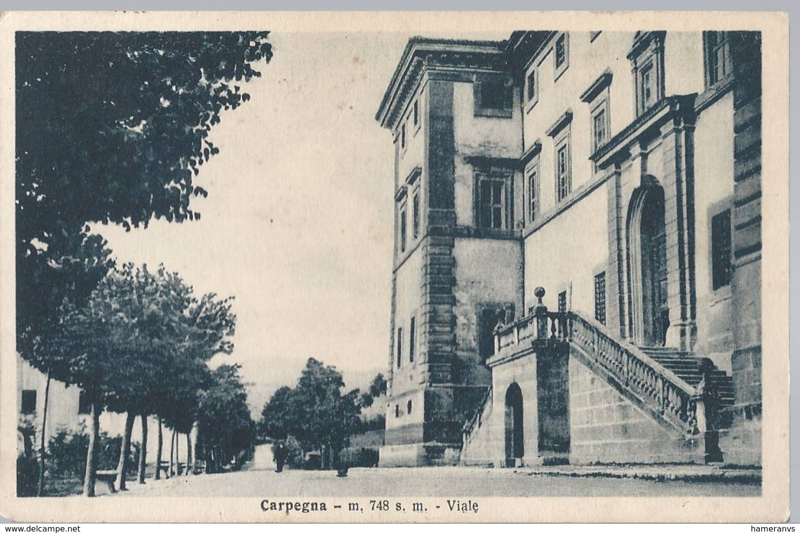 Carpegna - Viale - Pesaro - HP281 - Pesaro