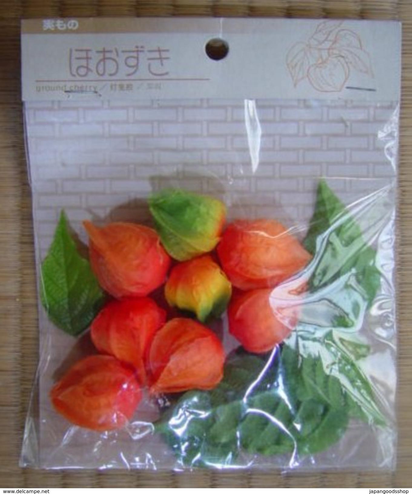 """ Hoozuki "" :  Artificial "" Ground Cherries - Creative Hobbies"