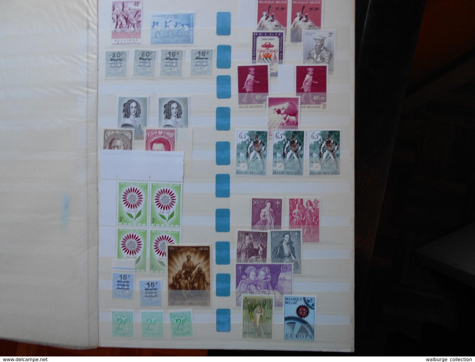 BELGIQUE VARIEE-AERIENNE-SERVICES-CHEMINS DE FER ET DIVERS. BON PETIT LOT A RECLASSER !(1775) 2 KILOS 100 - Belgique