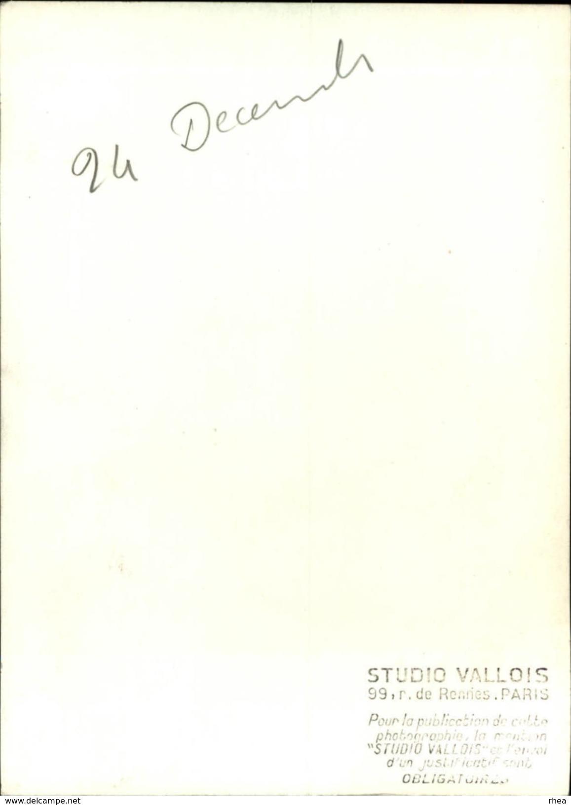 CELEBRITES - FRANK GERALD - Vieux Papiers
