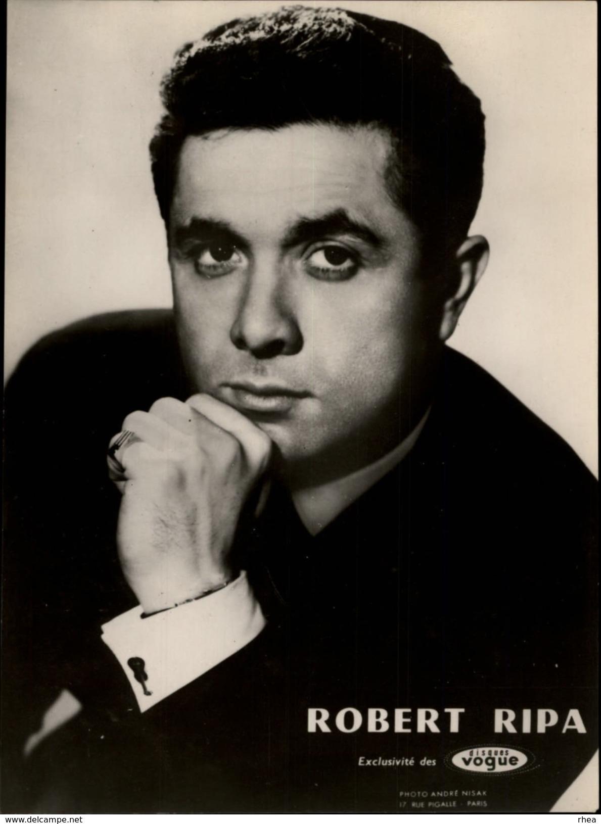 CELEBRITES - ROBERT RIPA - Célébrités