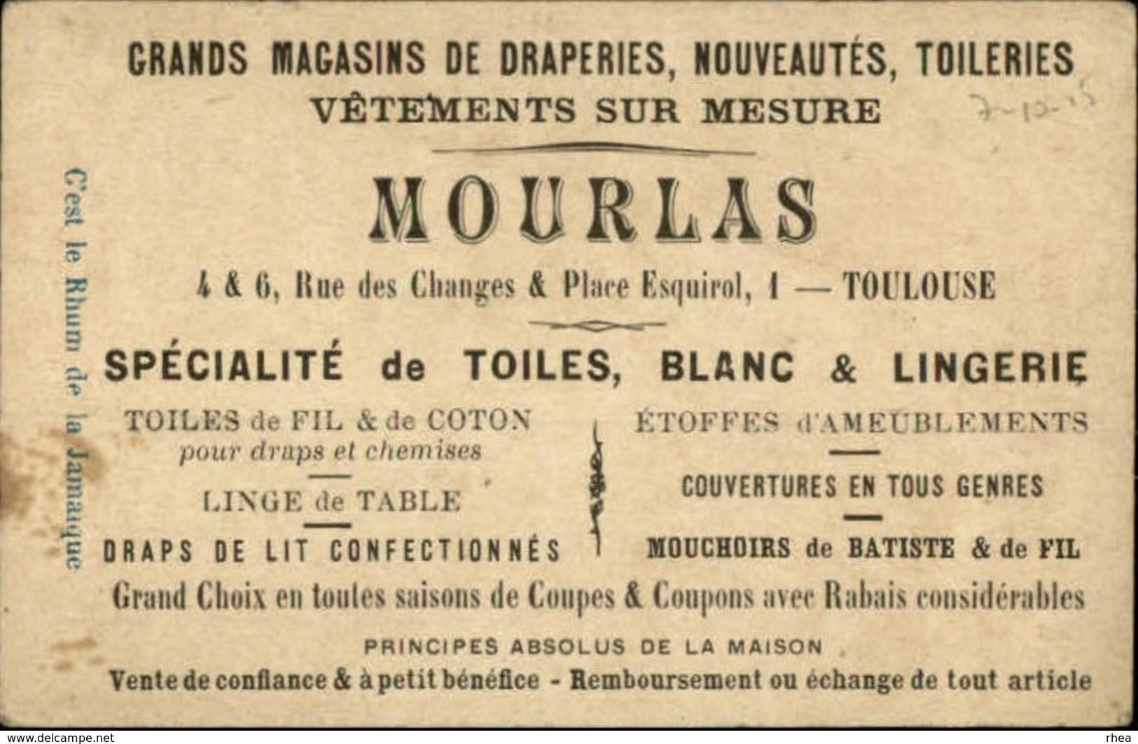 CHROMOS - Pub Pour Grands Magasins MOURLAS à TOULOUSE - Autres