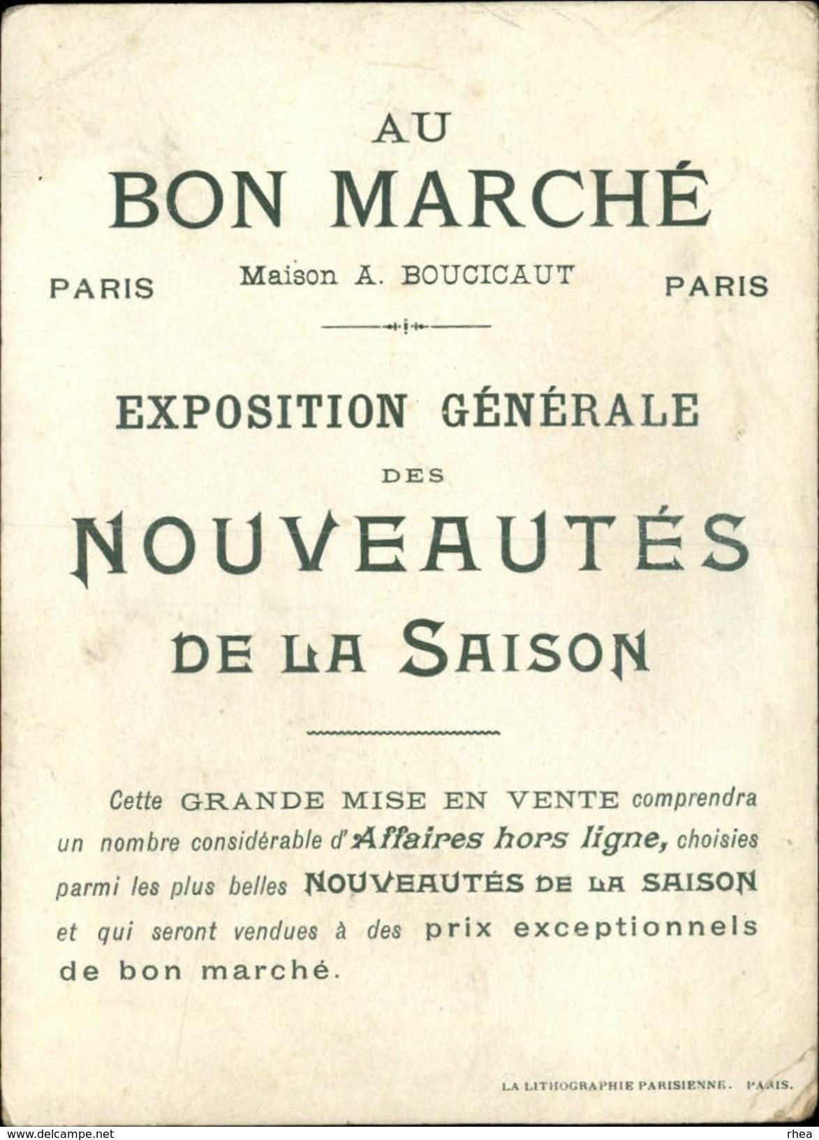 CHROMOS - Pub Pour AU BON MARCHE - Cendrillon - Au Bon Marché