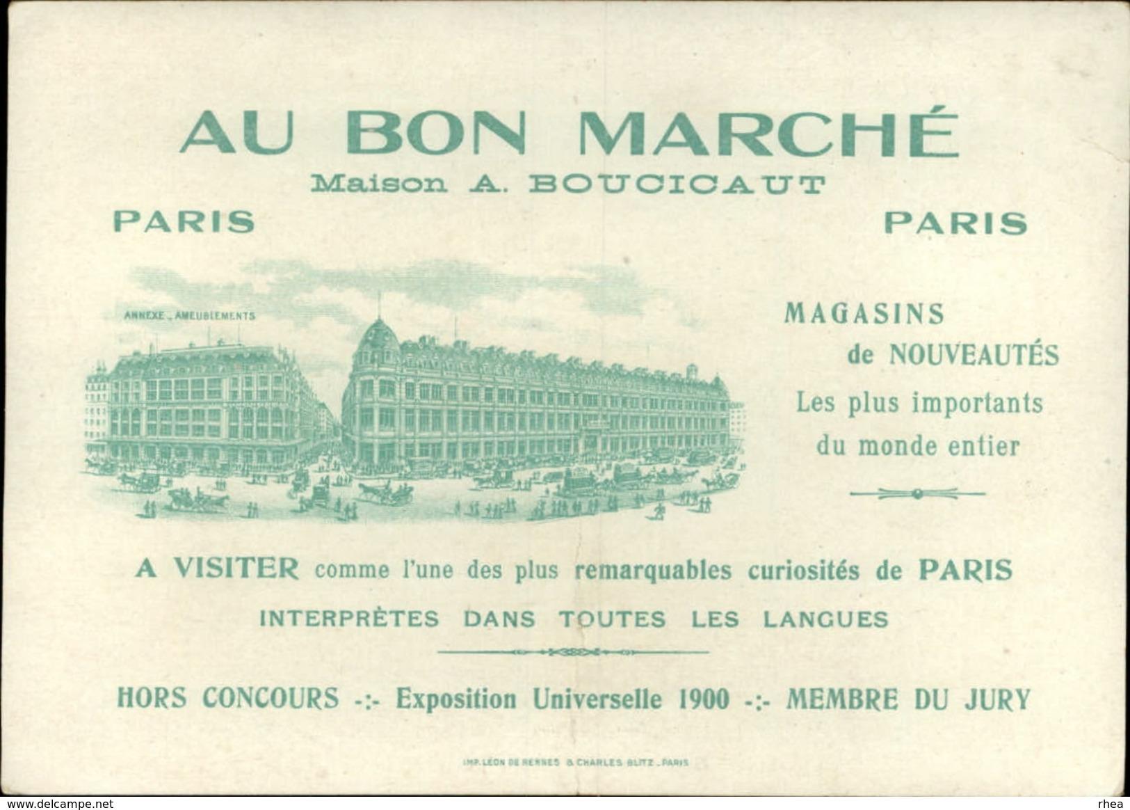 CHROMOS - Pub Pour AU BON MARCHE - PERE NOEL - Au Bon Marché
