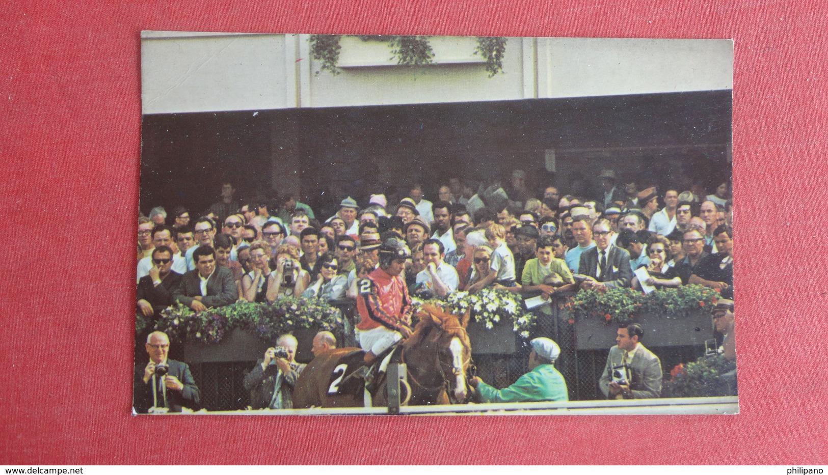 Stage Door Johnny 1968 Winner Belmont Stakes Belmont Park Elmont Long Island NY   Ref-2606 - Cartes Postales