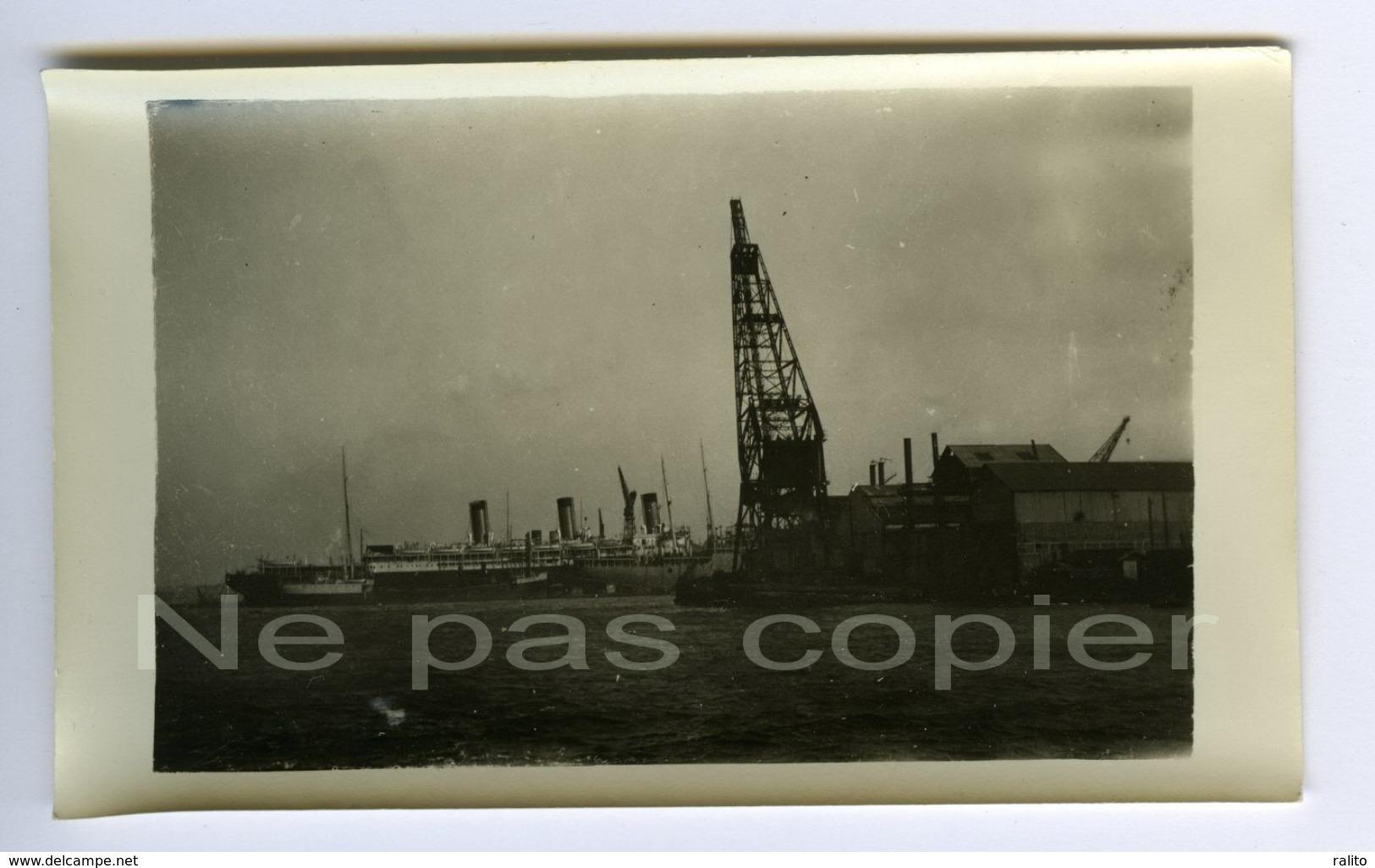 SEYNE-SUR-MER Les Chantiers Et Paquebots Vers 1910 VAR 83 - Lieux