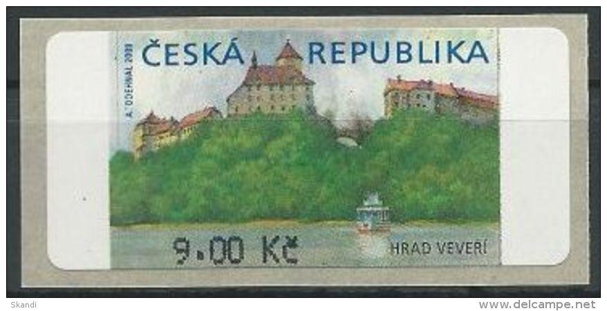 TSCHECHISCHE REPUBLIK 2000 MI-NR. Automatenmarke 1 ** MNH - Tchéquie