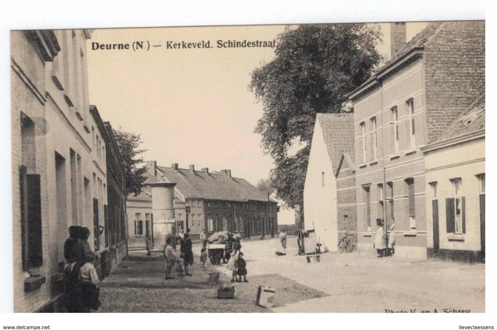 Deurne (N.) - Kerkeveld. Schindestraat - Antwerpen