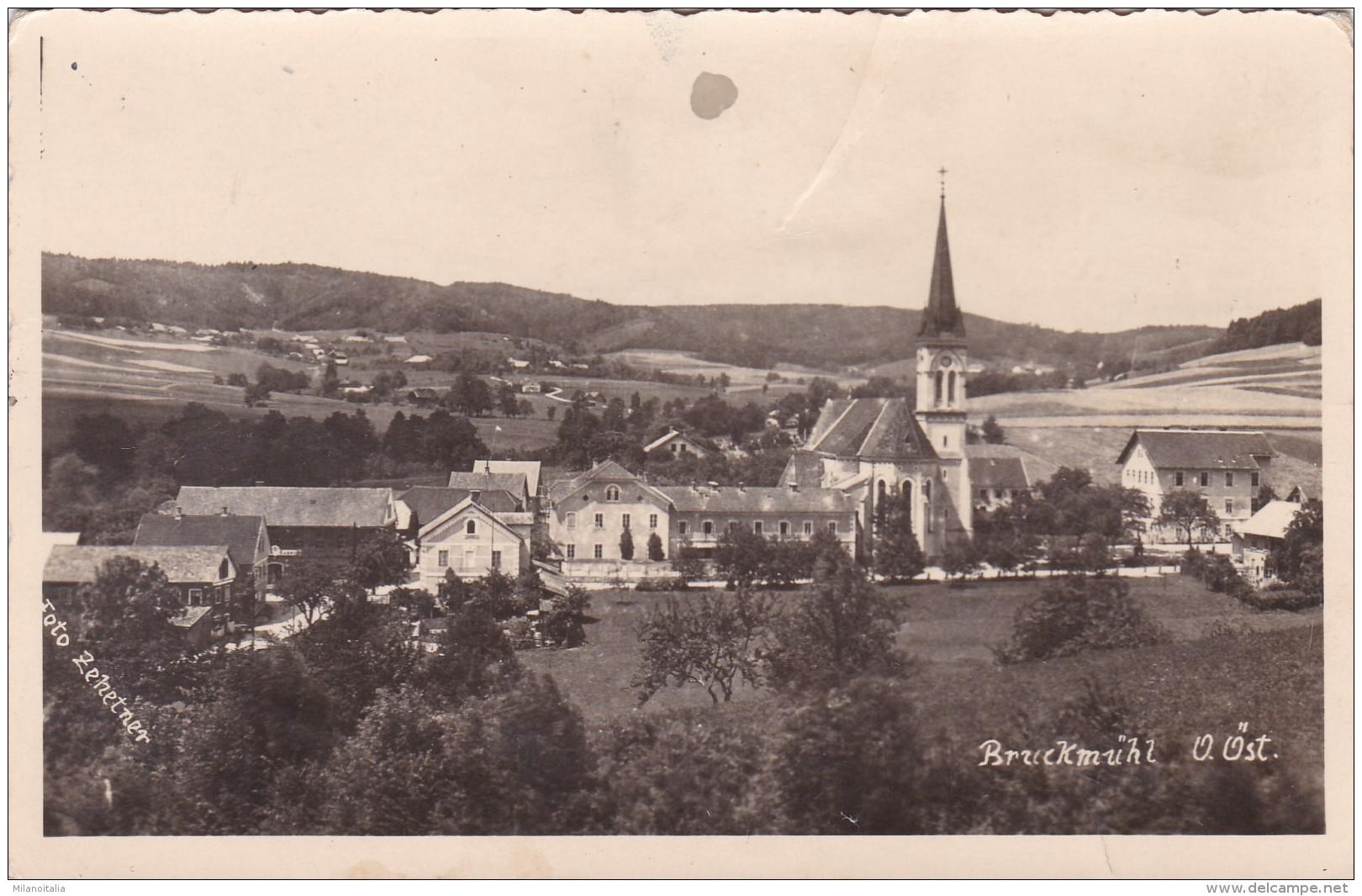 Bruckmühl - Ottnang A. Hausruck * Feldpost 13. 12. 1941 - Österreich