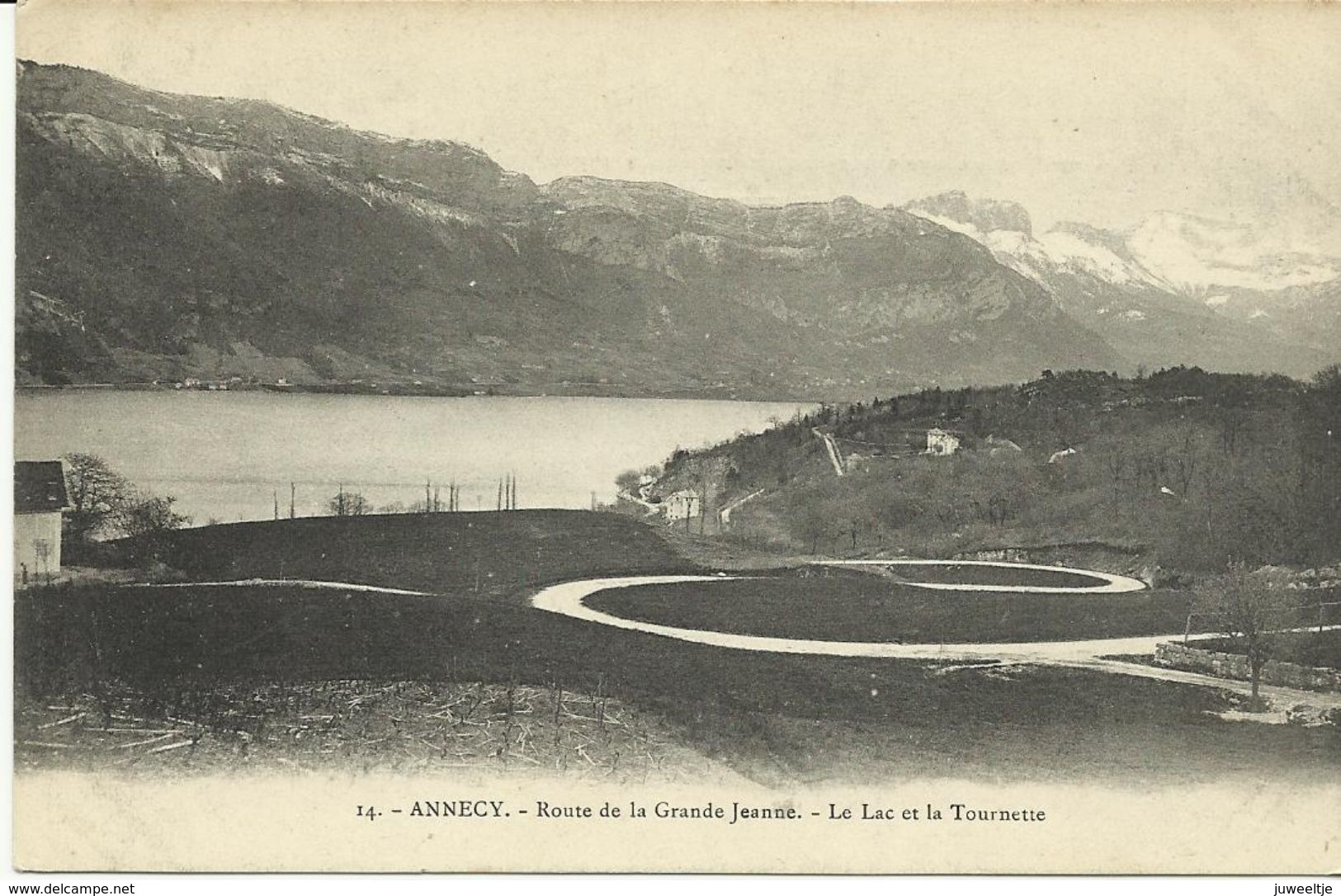 Annecy Route De La Grande Jeanne   (6348) - Annecy