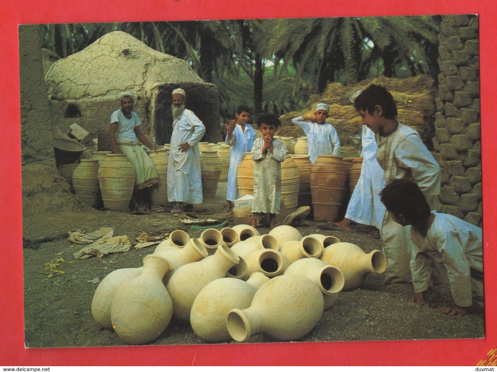 Sultanate Of Oman Bahla Pottery  ( Format 10,5 X 15 ) - Oman