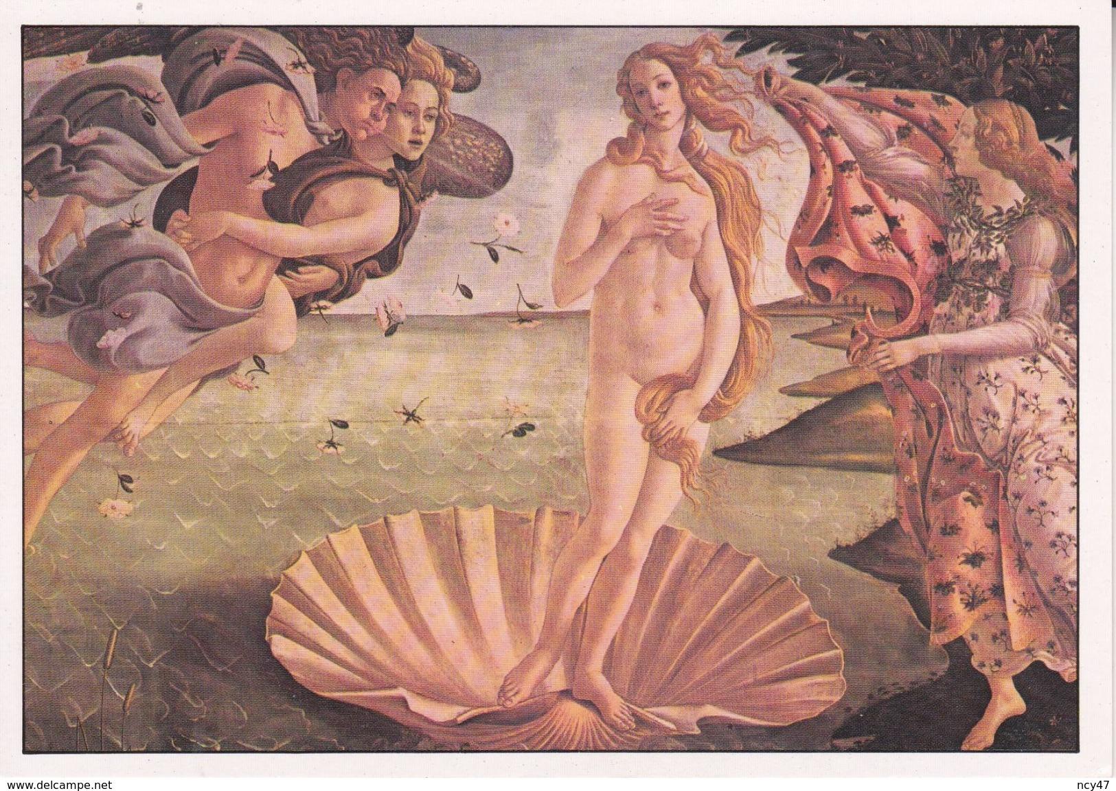 CARTES. Peintures De Nus. La Naissance De Vénus ( Botticelli ). ..D871 - Tableaux