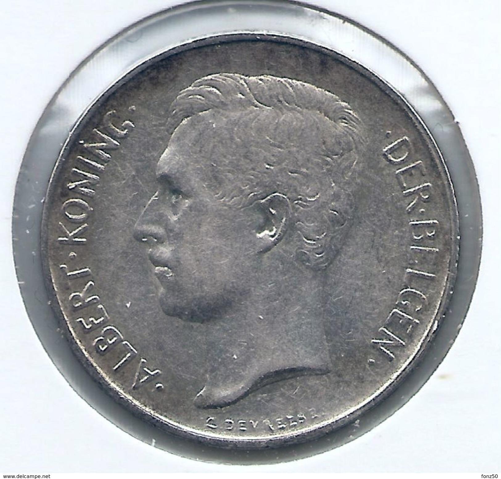 ALBERT I * 2 Frank 1911 Vlaams * Z.Fraai/Prachtig * Nr 9322 - 1909-1934: Albert I