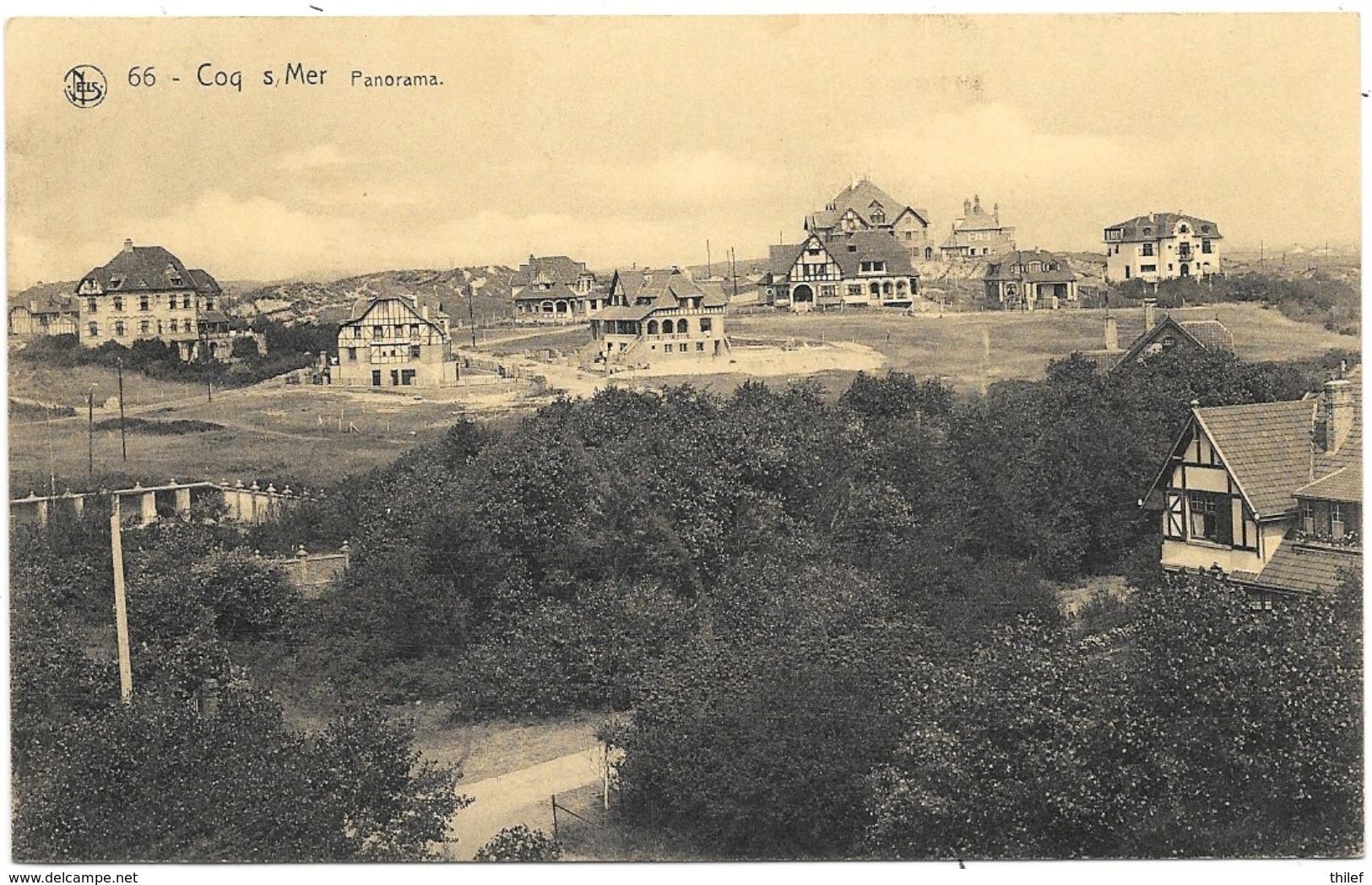 Coq-sur-Mer NA68: Panorama 1932 - De Haan