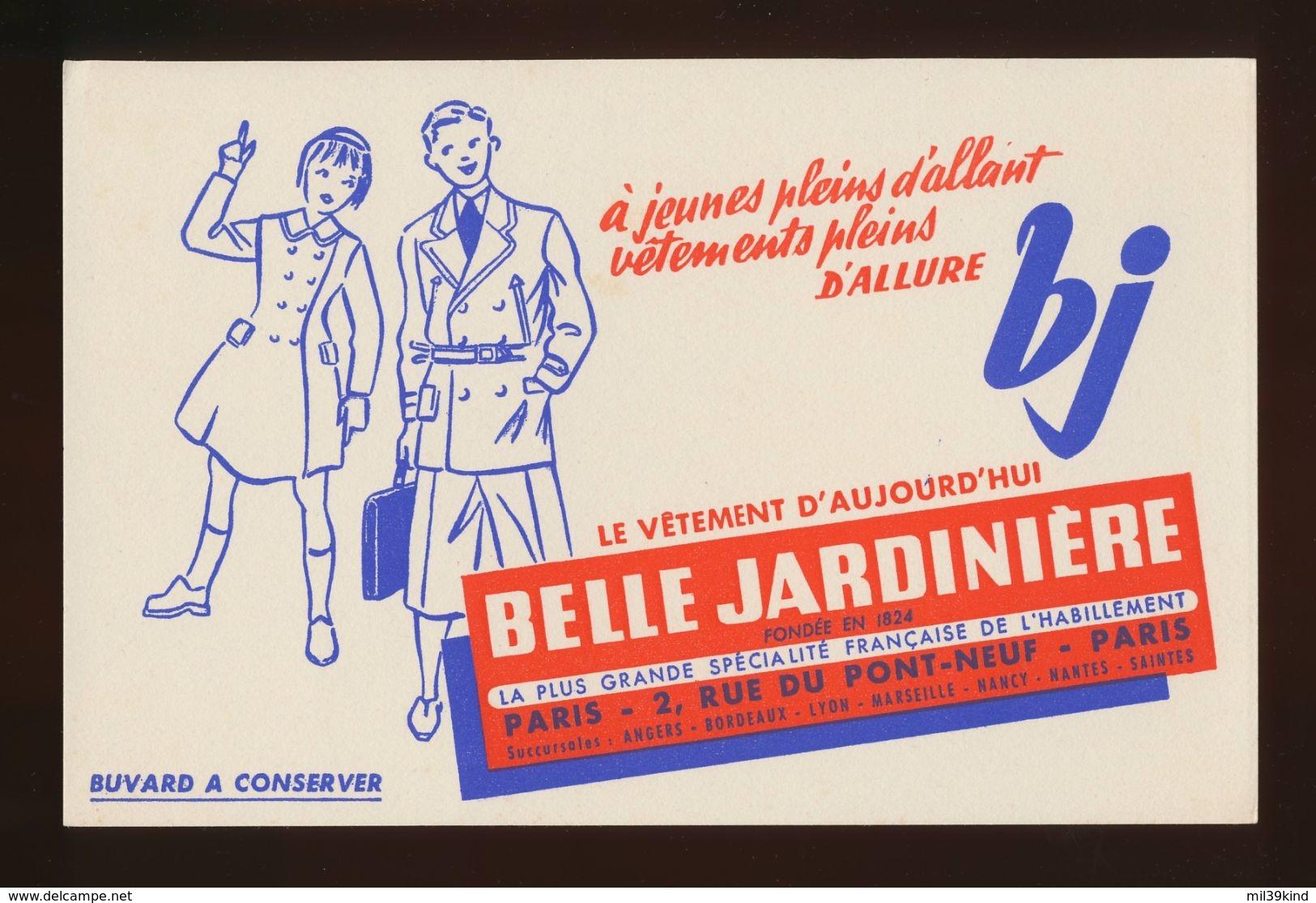 Buvard - BELLE JARDINIERE - Buvards, Protège-cahiers Illustrés