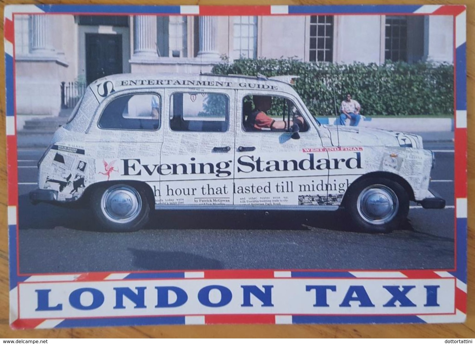 LONDON TAXI Evening Standard Adv - Taxis & Droschken