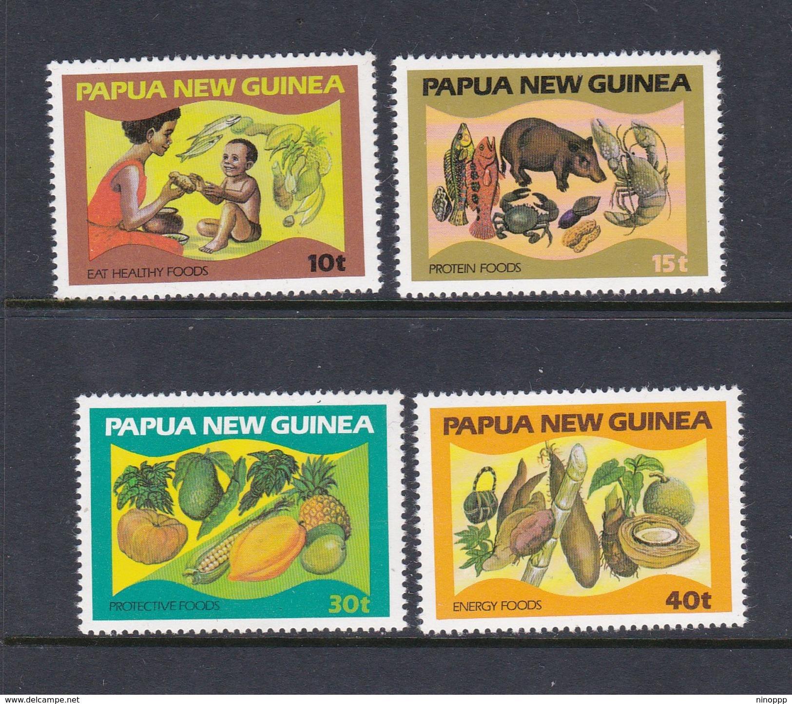 Papua New Guinea SG 434-437 1982 Food And Nutrition  MNH - Papua New Guinea