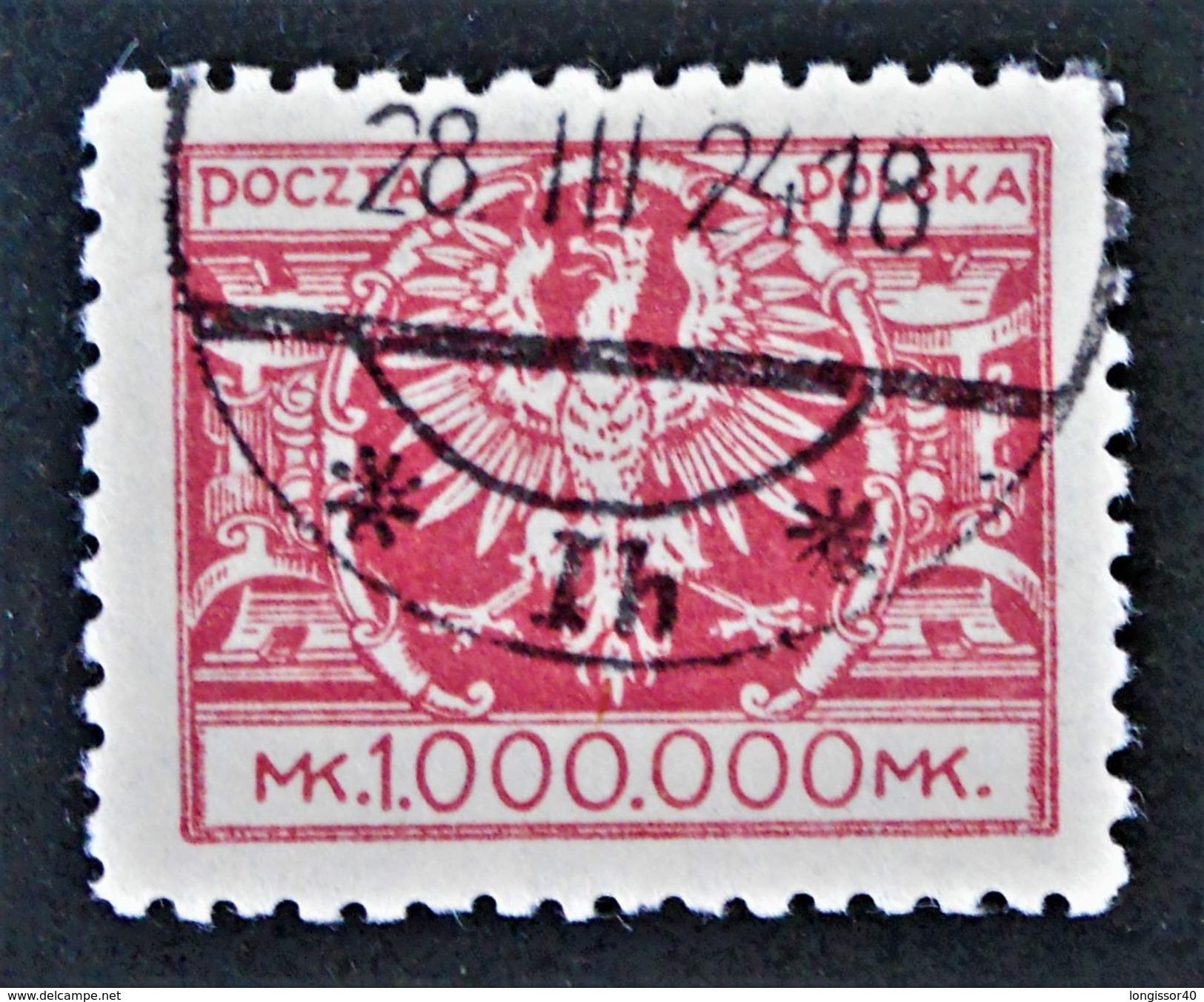 AIGLE 1924 - OBLITERE - YT 285 - 1919-1939 Republik