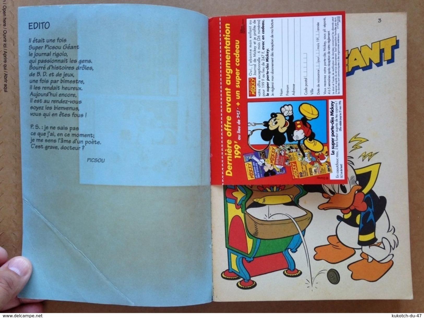 Disney - Super Picsou Géant - Année 1996 - N°70 - Picsou Magazine