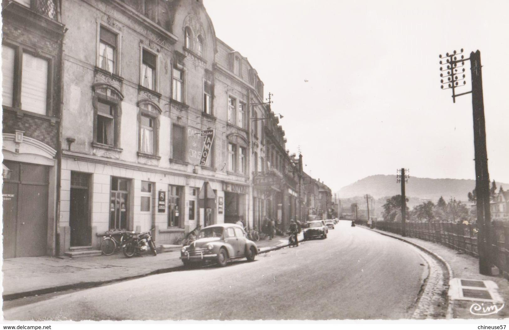ROMBAS Rue De La Gare Renault 4cv - France
