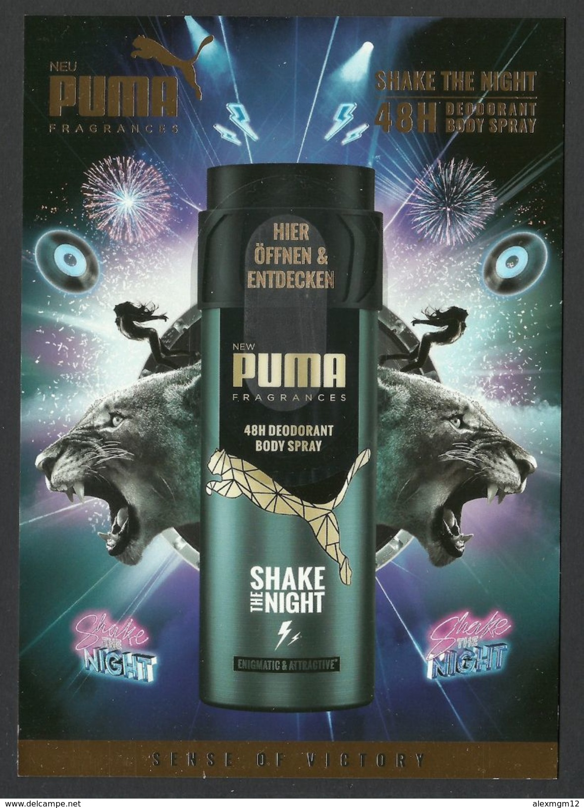 Puma, Deodorant, Sample, Tester - Perfume Samples (testers)